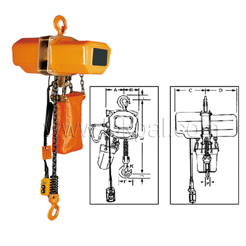 Lifting Hoist Hand Chain Electric Chain Hoist And