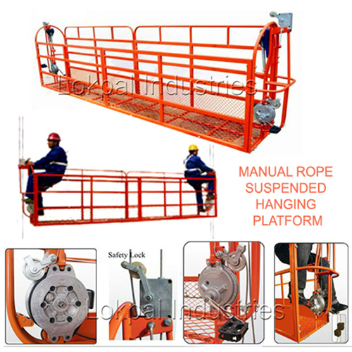 Manual Rope Suspended Platform