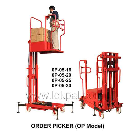 Order Picker OP +TT Lift Stacker