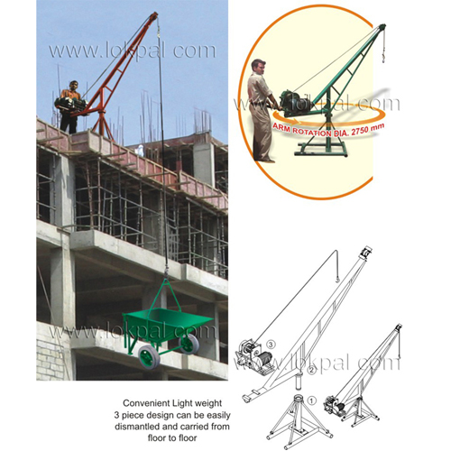 Building Lift & Hoist - Construction Hoist and Portable Hoister