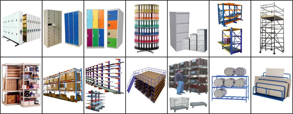 STORAGE & WAREHOUSING EQUIPMENTS