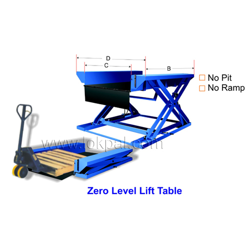 Hydraulic Liftable - Low Height Electric Lift Table and